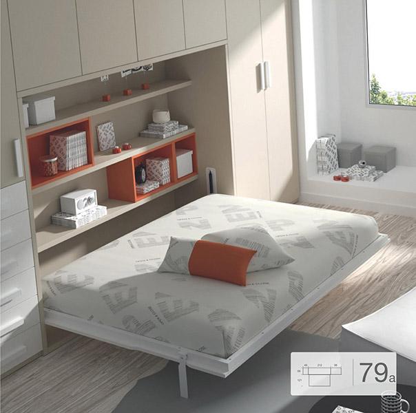 Camas abatibles muebles viblas tienda en valencia - Sistema cama abatible ...