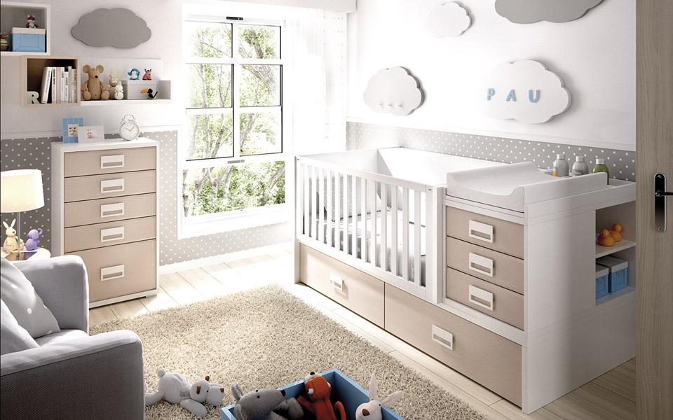 Cunas convertibles muebles viblas tienda en valencia mueble de hogar art culos de - Dormitorios infantiles valencia ...