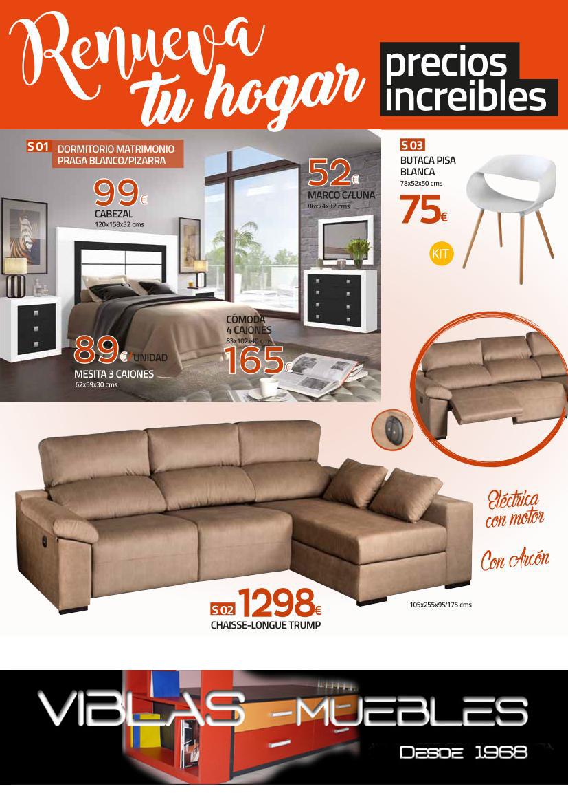 Oferta muebles 1 muebles viblas tienda en valencia for Practica muebles catalogo
